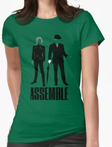 The Original Avengers Assemble Womens Fitted T-Shirt