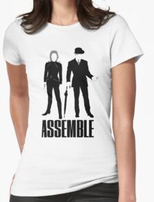The Original Avengers Assemble Womens Fitted T-Shirt