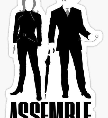 The Original Avengers Assemble Sticker