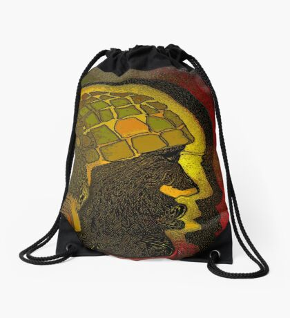 Another Door Opens Drawstring Bag