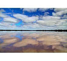"""Pink Lake Reflections"" Photographic Print"