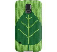 Nature Ecology Green Leaf Stitching iPod / iPhone 4  / iPhone 5  Case / Samsung Galaxy Cases  Samsung Galaxy Case/Skin