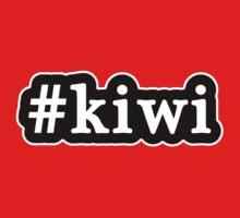 Kiwi - Hashtag - Black & White One Piece - Short Sleeve