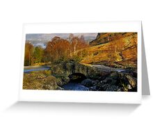 Ashness Bridge  Lake District Greeting Card