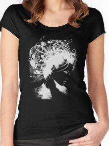Angie Negative Women's Fitted Scoop T-Shirt