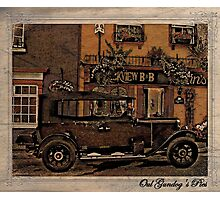 Another Oul Austin in Kinsale Photographic Print