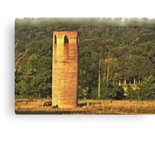 An East Tennessee Farmer's Version of a Castle Canvas Print
