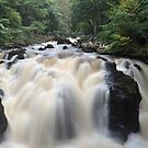 The Black Linn Falls, Dunkeld by Steve Jensen