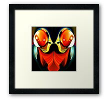 faces & creatures 045 Framed Print