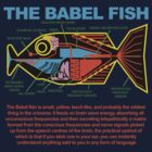 Hitchhikers Guide to the Galaxy - Babel FIsh by metacortex
