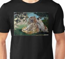 The Birth of Venus Pug Unisex T-Shirt