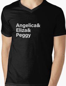 Schuyler Sisters - Hamilton Mens V-Neck T-Shirt