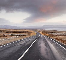 Open Road, Iceland by Stewart Smith