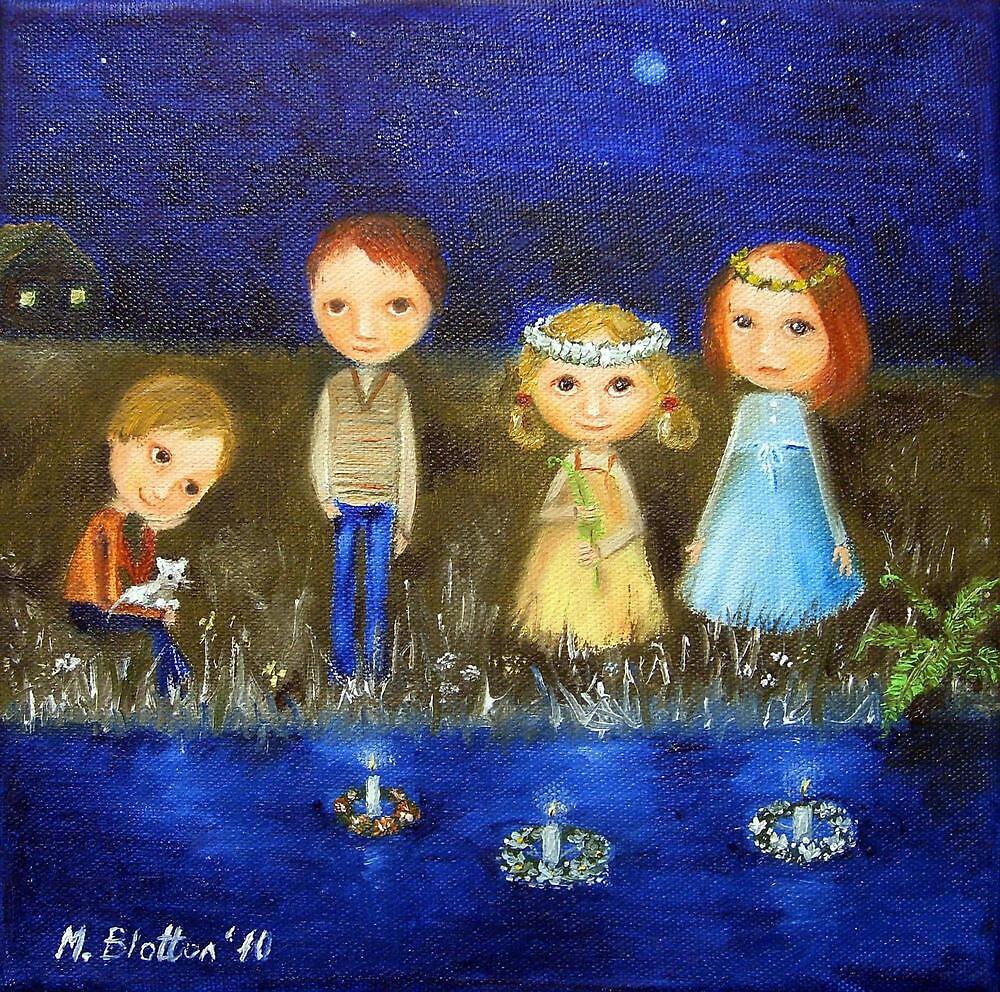 St. John's Night by Monica Blatton