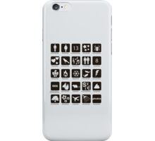 Phobia list iPhone Case/Skin