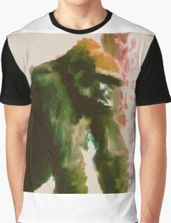 Furry Monkey Graphic T-Shirt