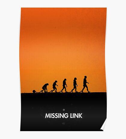 99 steps of progress - Missing link Poster