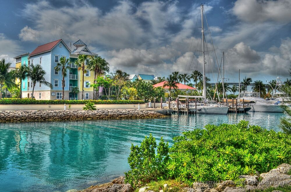 Harbour Village in Paradise Island, Nassau, The Bahamas by Jeremy Lavender Photography
