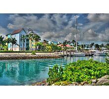 Harbour Village in Paradise Island, Nassau, The Bahamas Photographic Print
