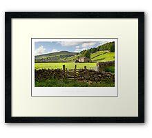 Gunnerside Framed Print
