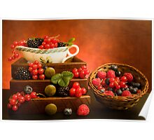 Still Life With Berries Poster