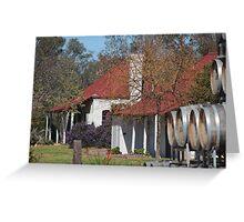The Vintners' Cottage Greeting Card