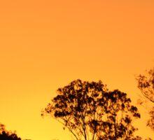 Orange Sky Sticker