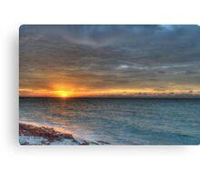 Sunrise over Yamacraw in Nassau, The Bahamas Canvas Print