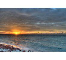 Sunrise over Yamacraw in Nassau, The Bahamas Photographic Print