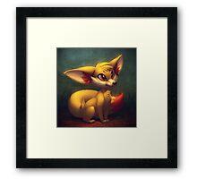 Fire Starter Pokemon - Fennekin Framed Print