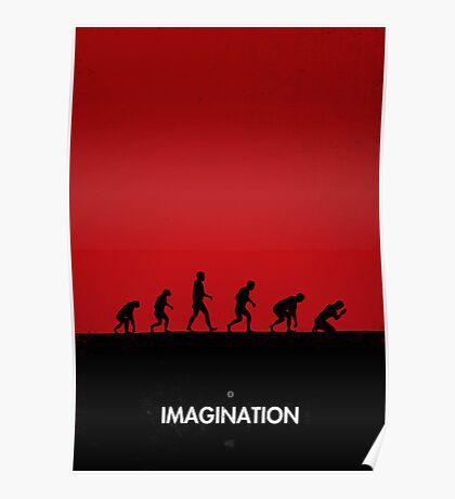 99 steps of progress - Imagination Poster
