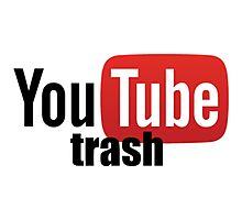 Youtube trash Photographic Print