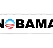 NOBAMA 2012 Sticker