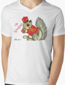 2013 Holiday ATC 22 - The Nutcracker Squirrel Mens V-Neck T-Shirt