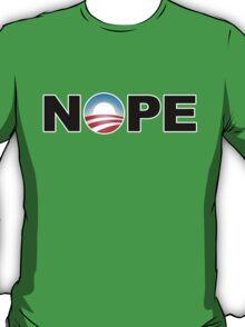 NOPE Obama 2012 T-Shirt