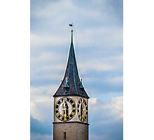 Clock tower Photographic Print