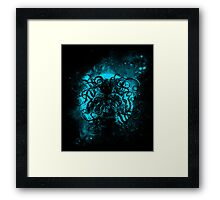 terror from deep space Framed Print