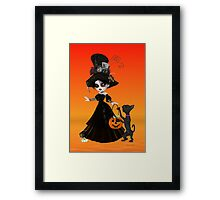 Trouble Brewing Framed Print