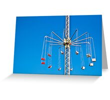 Sky Swing Greeting Card
