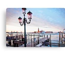 Sunrise in Venice II Metal Print
