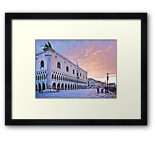 Sunrise in Venice III Framed Print