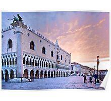 Sunrise in Venice III Poster