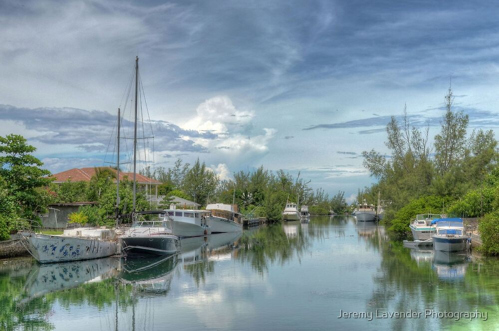Peaceful River Scenery in Coral Harbour - Nassau, The Bahamas by Jeremy Lavender Photography