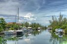 Peaceful River Scenery in Coral Harbour - Nassau, The Bahamas by 242Digital
