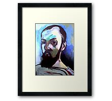 Tribute to Henri Matisse  Framed Print