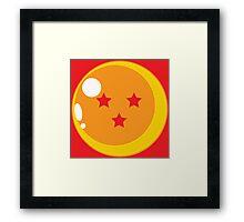 Dragon Ball Three Framed Print