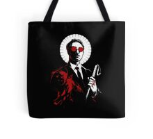 St. Matthew and the Devil Inside Tote Bag