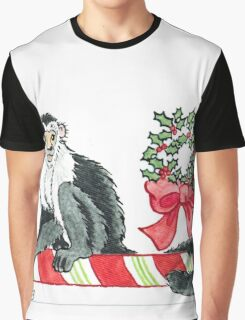 2013 Holiday ATC 18 - Holiday Monkey Graphic T-Shirt