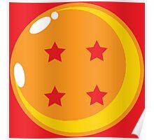 Dragon Ball Four Poster