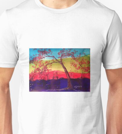 Pink blossoms Tree Unisex T-Shirt